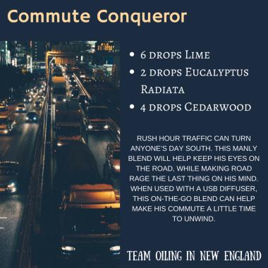Commute Conqueror Diffuser Blend
